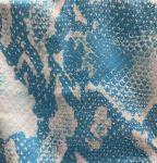 Blue Snake Skin